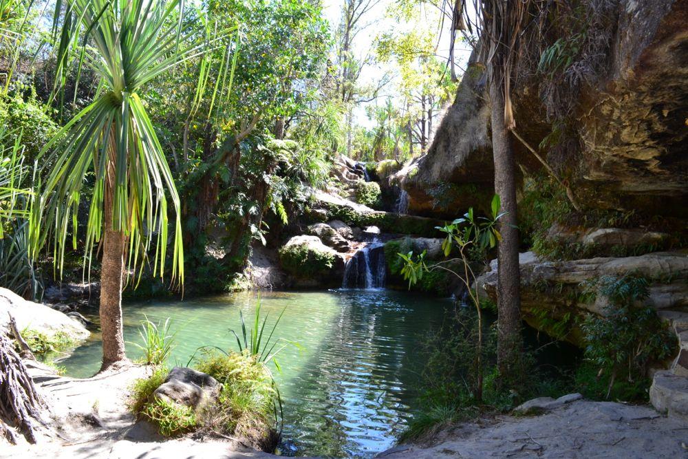 Madagascar 11 parco isalo - Cascate in italia dove fare il bagno ...